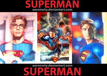 Superman collection by aaronwty