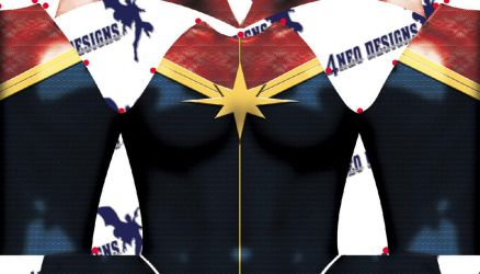 Captain Marvel v2 001 by 4neodesigns