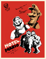 Hotelmario poster by StingerCorps