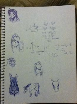 My math book by ElricloverAlchemist
