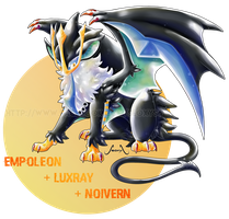 [Closed] Empoleon X Luxray X Noivern by Seoxys6