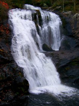 Bald River Falls Fall Time 2 by SunsetRising-Art