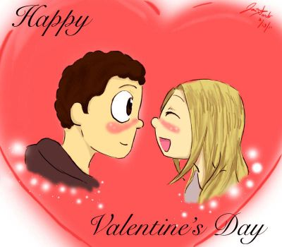 Happy Valentine's Day 2011 by ll-Wolfie-ll