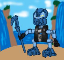BIONICLE: Turaga Gali by Flameydragwasp