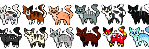 5-pts-Cats-Adopt-CLOSED 0/20 by BAE-MON