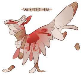 Wounded Heart - Valentines Advent Day 13 by GentleLark