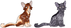 [CLOSED] Fancy Striped Cat Adopts by Issacrystallion