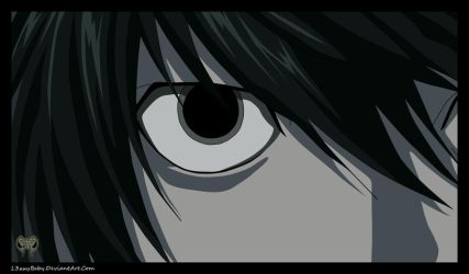 A Brilliant Mind..L Lawliet by l3xxybaby