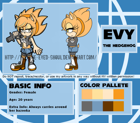 Evy Reference Sheet by The-One-Eyed-Ghoul