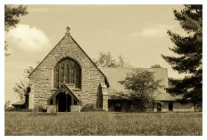 An Old Rock Church by TheMan268