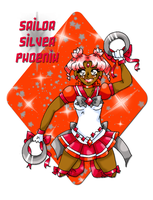 SSS: Sailor Silver Phoenix by caleigh