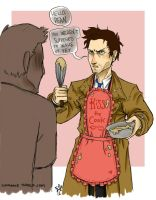 SPN - Cooking Cas by woodooferret