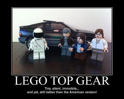 Lego Top Gear Poster by tomthefanboy
