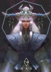 Raava the White Force by mangamie