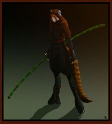 Red Panda Ninja by AkaiPanda