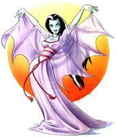 Lily Munster by andypriceart