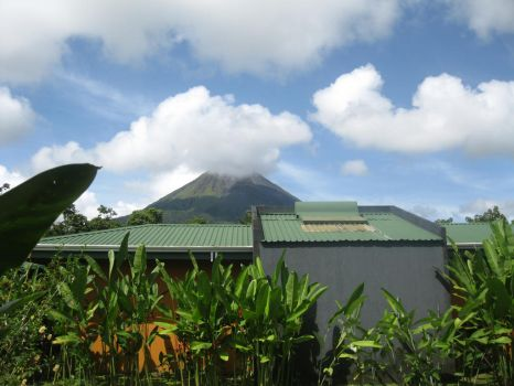 Mount Arenal by kgwriter