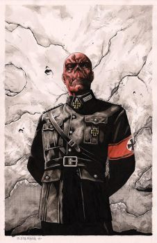 RED Skull by mikitot