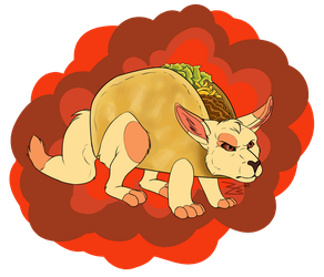 YCH - Surly  'Roo Taco by Ferrah5216