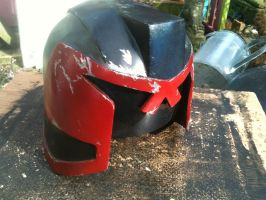 Dredd Helmet, painted by dicewarrior