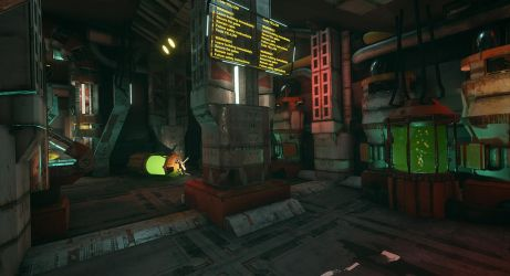 Unreal level design by MiekeYperman