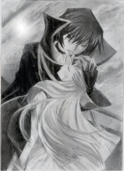 Lelouch and C.C by Ecilpse93