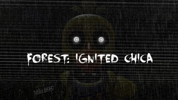 TJoC:R SFM: Forest: Ignited Chica by Mikol1987