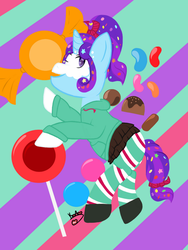 Dotty Sweets as Vanellope by KayleeA