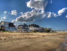 Beach HDR by DanDeibler