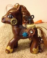 Steampunk My Little Pony by TexacoPokerKitty