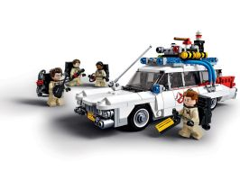 LEGO Ghostbusters and their Cadillac Ecto-1! by ryanthescooterguy