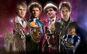 Classic Doctors - New Monsters by Cotterill23
