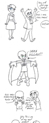 Little  Megamind and friends by Fensy