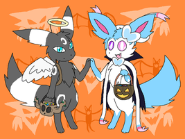 Trick Or Treat II by TehShinyKawi
