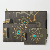 The Legend of Zelda Sheikah Slate Carry-all Pouch by knil-maloon