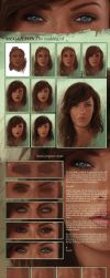 Megan Fox, the making of by Norke