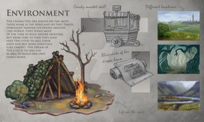 Environment Sheet by SuzanneLaither
