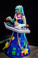 League of Legends - Arcade Sona cosplay 02 by CZSKLoLCosplayers