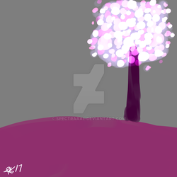 Glowing Tree by CryDontSmile