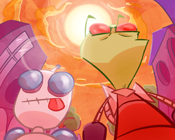 Invader Zim LATE 15th Anniversary by Epic-Pib