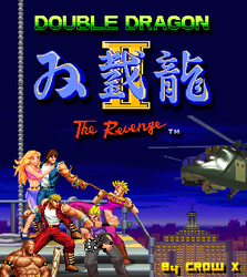 double dragon 2 cover by crowbrandon