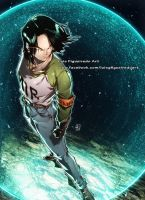 ANDROID 17 from Dragon Ball Super by marvelmania