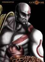 Kratos by DOGGMAFFIA