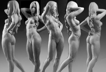Artistic Nude by MarkNewman
