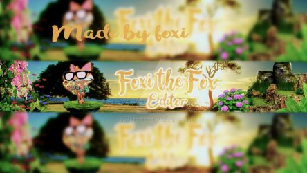 Banner for me by Foxi-Edits