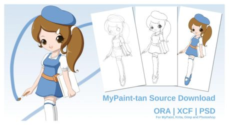 MyPaint-tan (Source Download) by Jdan-S