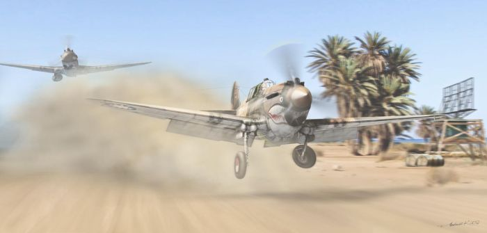'Flying Tigers' Col. Edward Rector by rOEN911