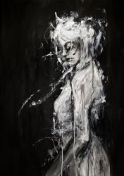 disagio bianco by agnes-cecile