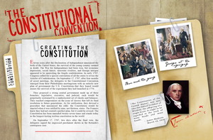 Constitutional Convention Spread by HilendDesign