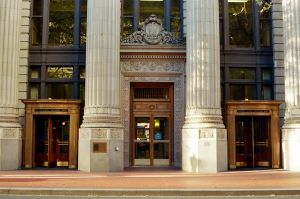 Downtown PDX: Banks and their Money by neuroplasticcreative
